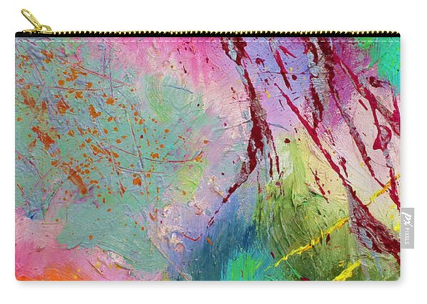 Modern Abstract Diptych Part 1 Carry-all Pouch