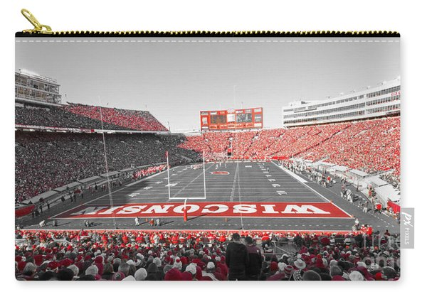 0095 Badger Football  Carry-all Pouch