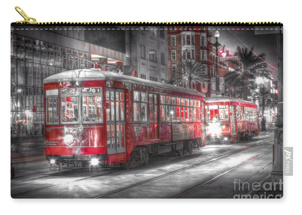 0271 New Orleans Street Car Carry-all Pouch