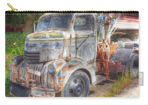 0281 Old Tow Truck Carry-all Pouch