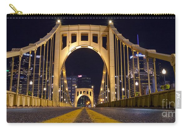 0304 Roberto Clemente Bridge Pittsburgh Carry-all Pouch