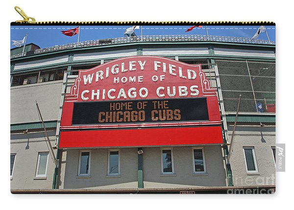 0601 Wrigley Field Carry-all Pouch