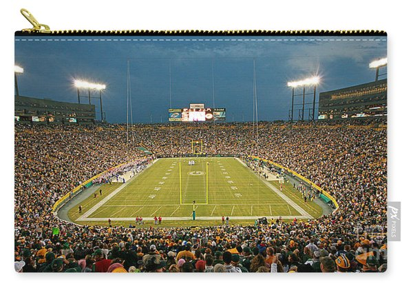 0614 Prime Time At Lambeau Field Carry-all Pouch