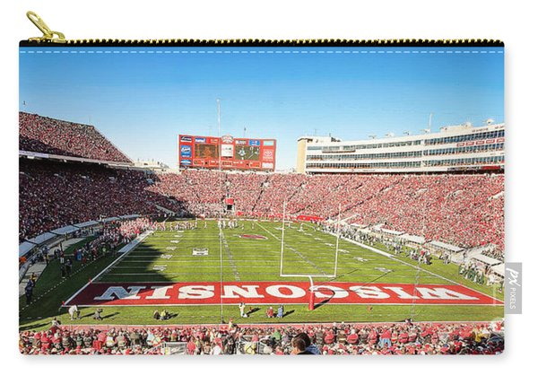 0812 Camp Randall Stadium Panorama Carry-all Pouch