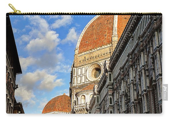 0821 The Basilica Of Santa Maria Del Fiore - Florence Italy Carry-all Pouch