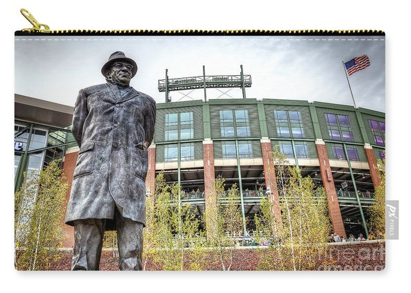 0853 Lombardi Statue Carry-all Pouch