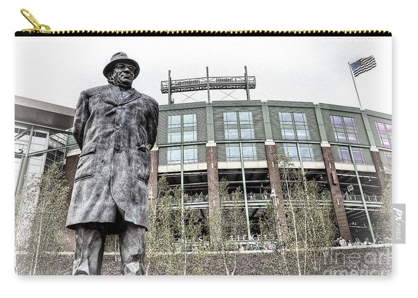 0855 Lombardi Statue Carry-all Pouch