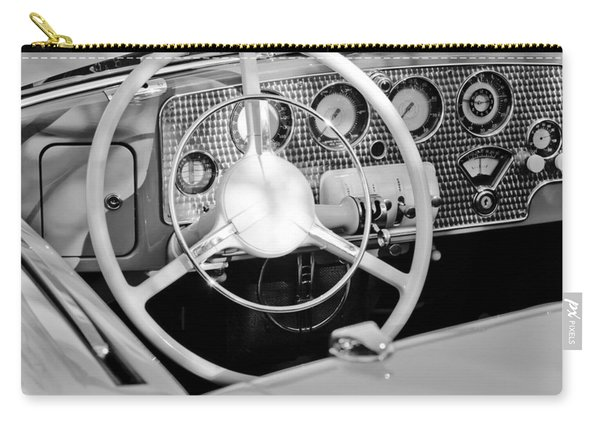 1937 Cord Sc Cabriolet Steering Wheel Carry-all Pouch