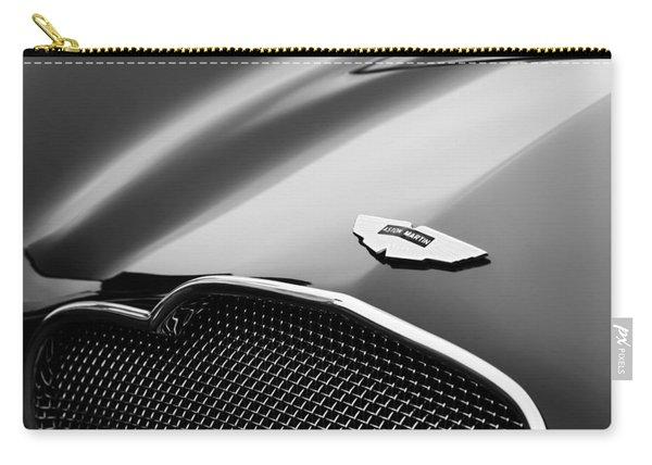 1953 Aston Martin Db2-4 Bertone Roadster Hood Emblem Carry-all Pouch