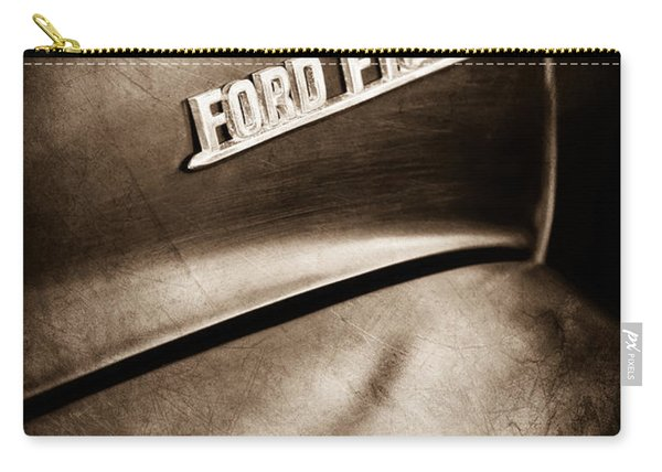 1953 Ford F-100 Pickup Truck Emblem Carry-all Pouch