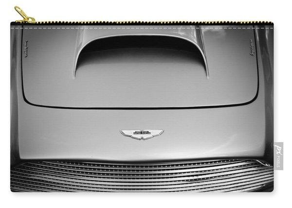 1956 Aston Martin Db 2/4 Mk I Hood Emblem Carry-all Pouch