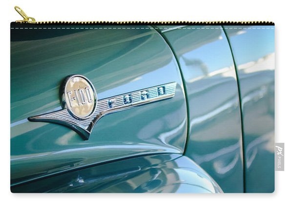 1956 Ford F-100 Truck Emblem Carry-all Pouch