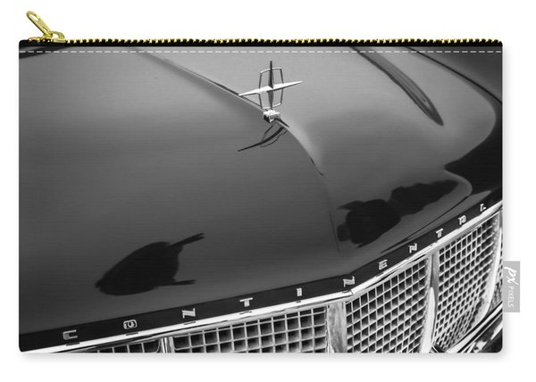 1956 Lincoln Continental Mark II Hess And Eisenhardt Convertible Grille Emblem - Hood Ornament Carry-all Pouch