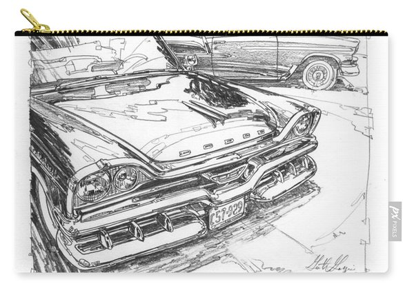 1957 Dodge Royal Lancer Study Carry-all Pouch