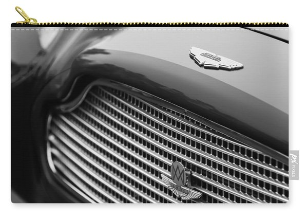 1960 Aston Martin Db4 Gt Coupe' Grille Emblem Carry-all Pouch