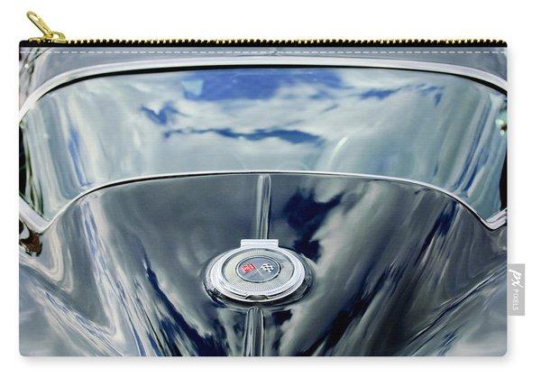 1967 Chevrolet Corvette Rear Emblem Carry-all Pouch