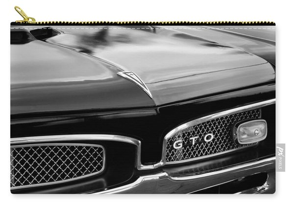 1967 Pontiac Gto Grille Emblem Carry-all Pouch