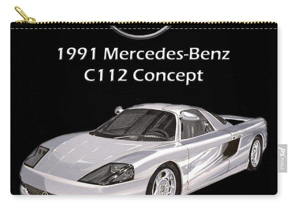 1991 Mercedes Benz C 112 Concept Carry-all Pouch