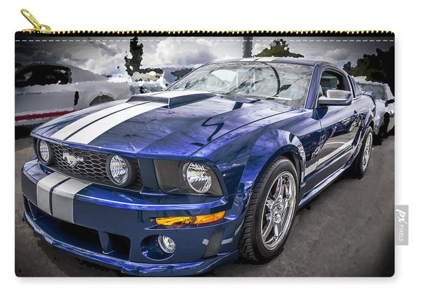 2008 Ford Shelby Mustang With The Roush Stage 2 Package Carry-all Pouch