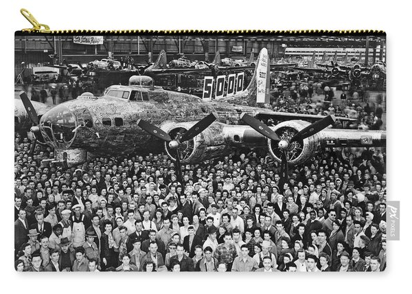 5,000th Boeing B-17 Built Carry-all Pouch