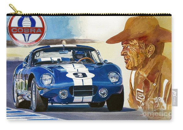 64 Cobra Daytona Coupe Carry-all Pouch