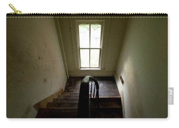 Abandoned Stairs Carry-all Pouch