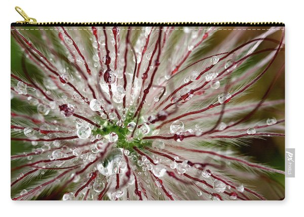 Abstract Macro Flower Head Carry-all Pouch