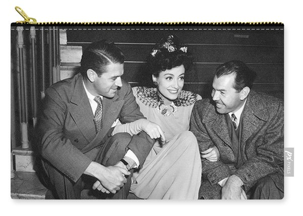 Actress Joan Crawford Carry-all Pouch