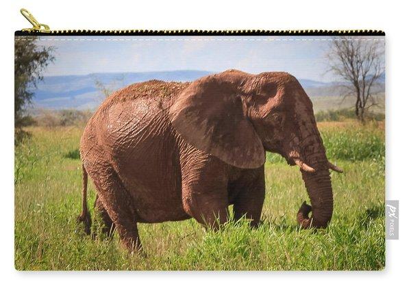 African Desert Elephant Carry-all Pouch