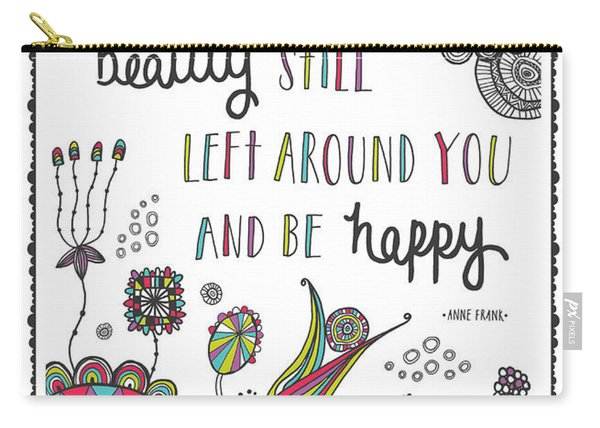 Anne Frank Quote Carry-all Pouch
