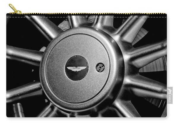 Aston Martin Db7 Wheel Emblem Carry-all Pouch