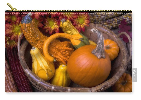 Autumn Basket Carry-all Pouch
