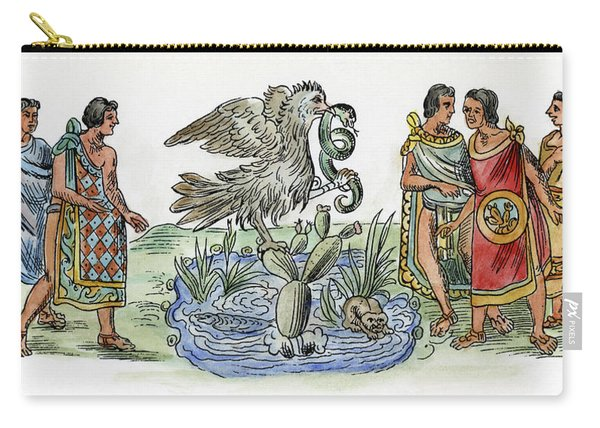 Aztec Priests, C1325 Carry-all Pouch