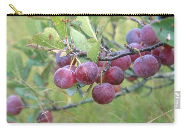 Beach Plums Carry-all Pouch