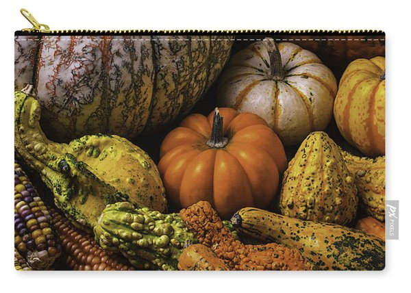 Beautiful Autumn Harvest Carry-all Pouch