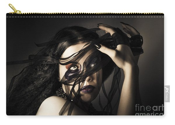 Beauty Queen Clothing Designer. Fine Art Fashion Carry-all Pouch