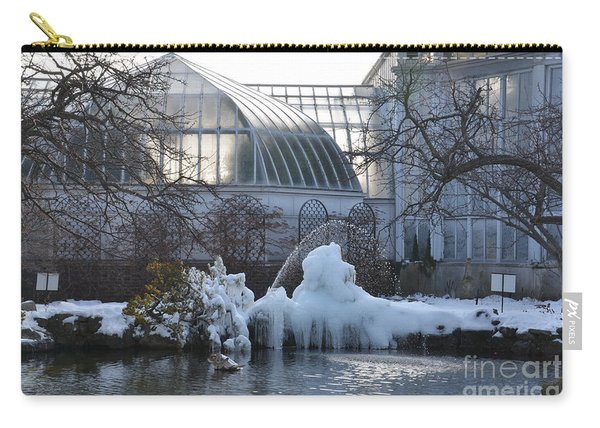 Belle Isle Conservatory Pond 2 Carry-all Pouch