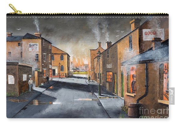 Black Country Village From The Boat Yard Carry-all Pouch