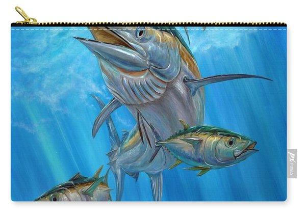 Black Marlin And Albacore Carry-all Pouch