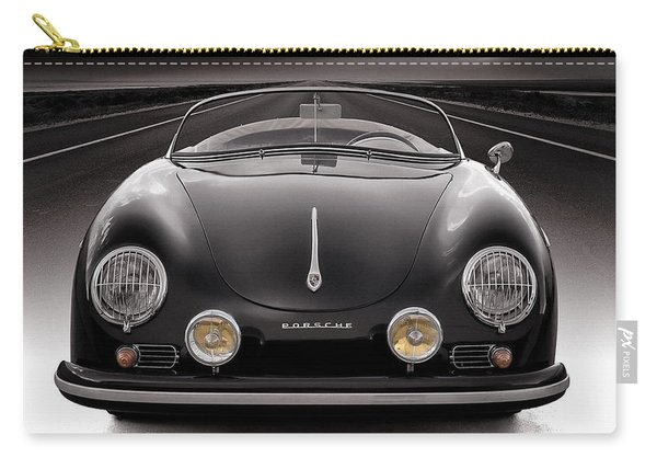 Black Porsche Speedster Carry-all Pouch