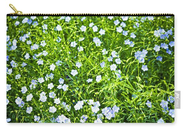 Blooming Flax  Carry-all Pouch