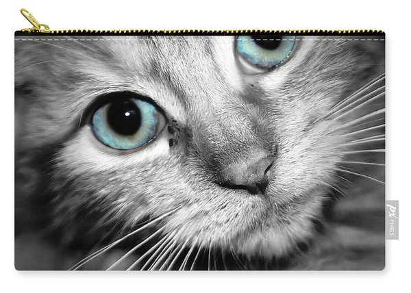 Blue Eyed Baby Carry-all Pouch