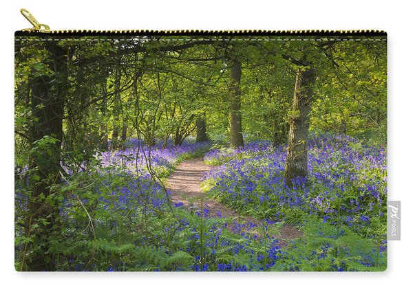 Bluebell Woods Walk Carry-all Pouch