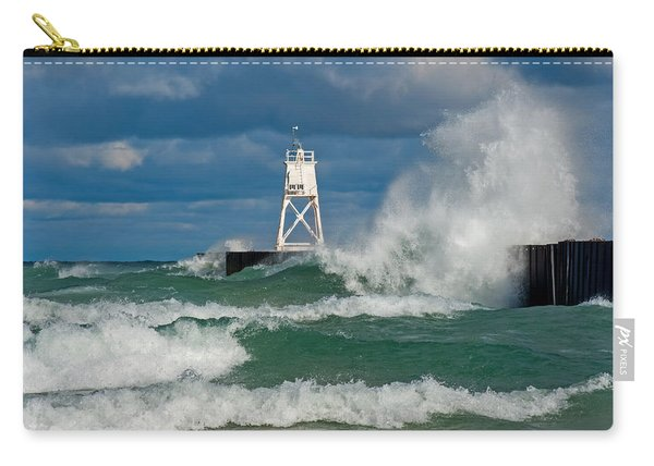 Break Wall Waves Carry-all Pouch