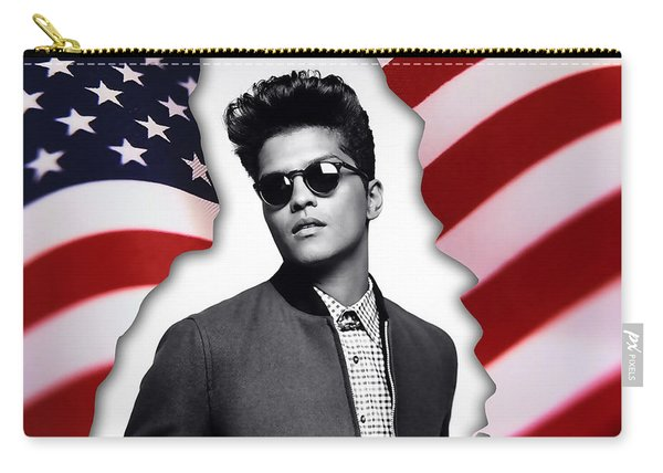Bruno Mars Carry-all Pouch
