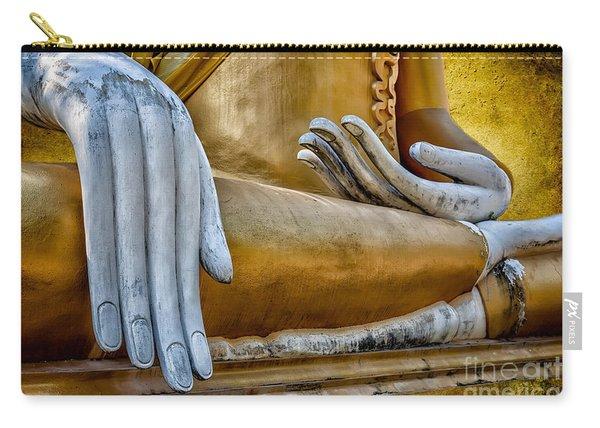 Buddha Golden Carry-all Pouch