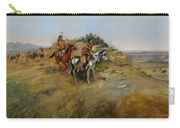 Buffalo Hunt Carry-all Pouch