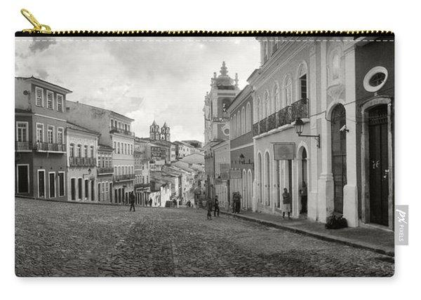 Buildings In A City, Pelourinho Carry-all Pouch