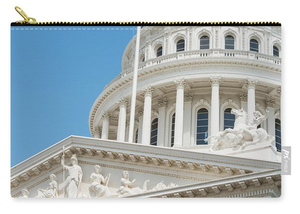 California State Capitol In Sacramento Carry-all Pouch