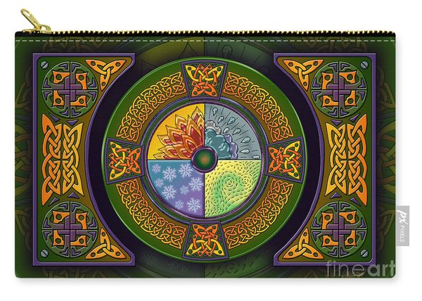 Celtic Elements Carry-all Pouch